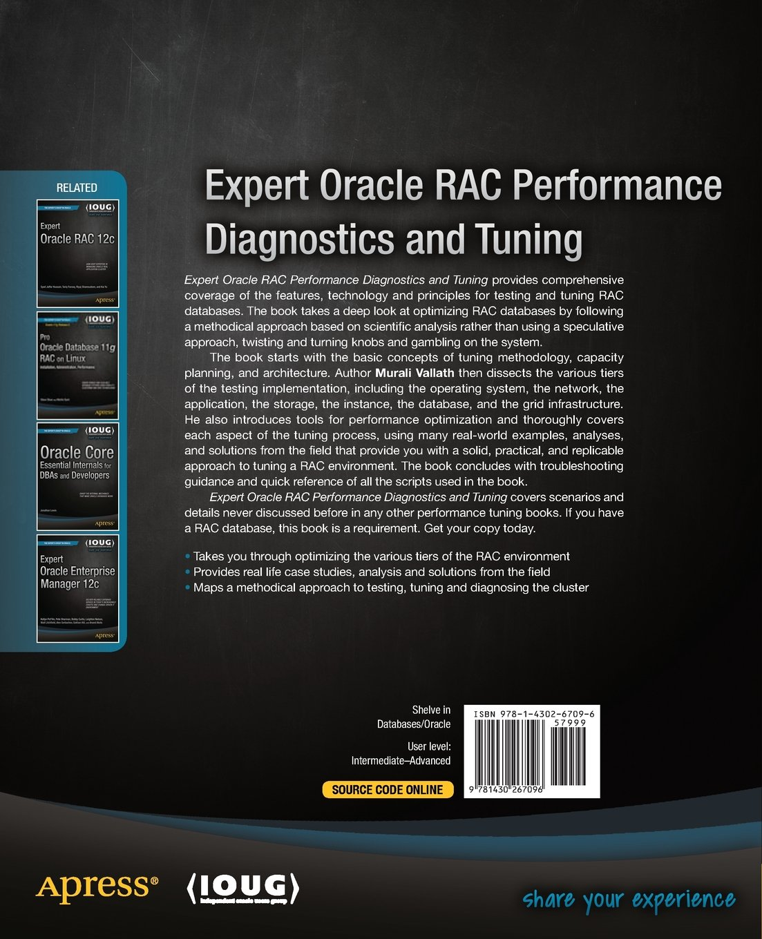 Buy Expert Oracle RAC Performance Diagnostics and Tuning Book ...