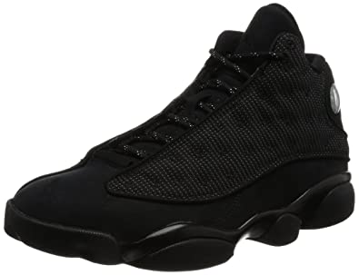 Jordan 13 Men's Shoes Shoes Black/Anthracite 414571-011 (7.5 D(M
