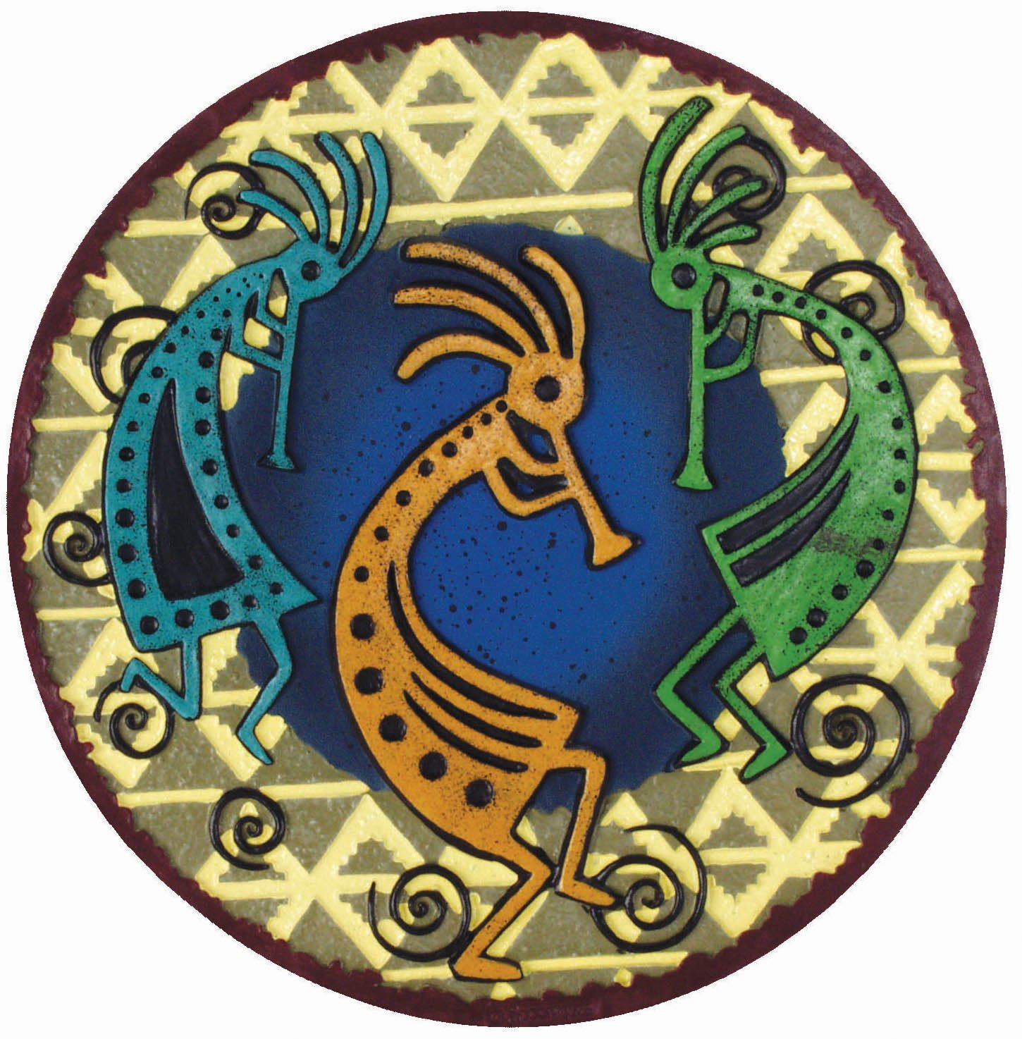 Spoontiques 13036 Kokopelli Stepping Stone by Spoontiques