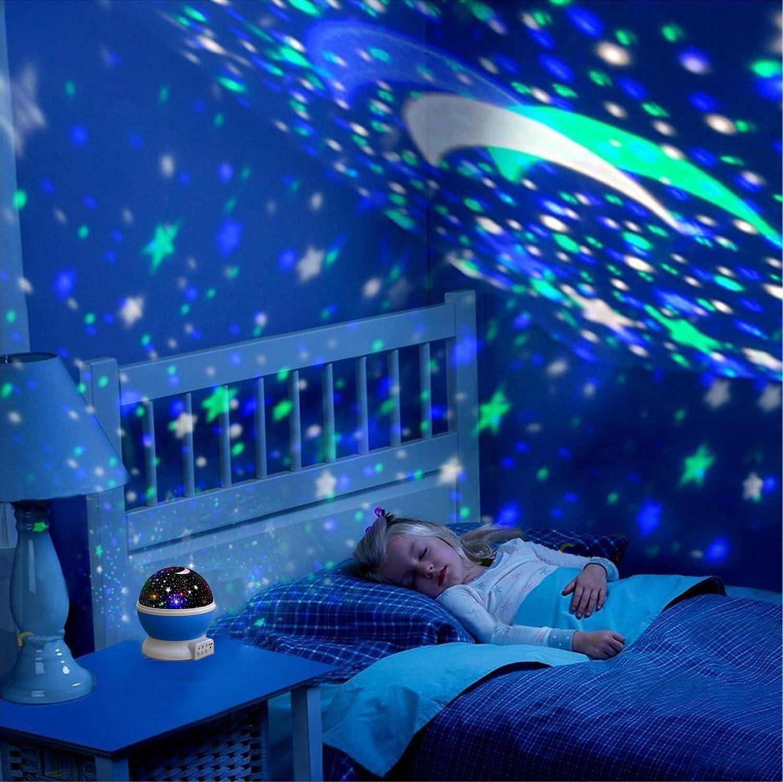 Amazon.com: Elmchee - Lámpara de noche para niños, diseño de ...