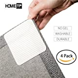 """Home Techpro Rug Grippers Best Non-Slip Washable """"Vacuum Tech"""" -New Materials to Anti Curling Pad : Keep Place and Make Corner Flat and Easily Peel Off When Need"""