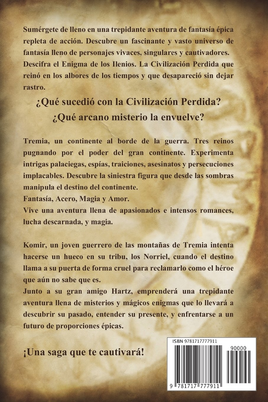 MARCADO: EL ENIGMA DE LOS ILENIOS I (Edición V aniversario) (Spanish Edition): Pedro Urvi, Sarima: 9781717777911: Amazon.com: Books