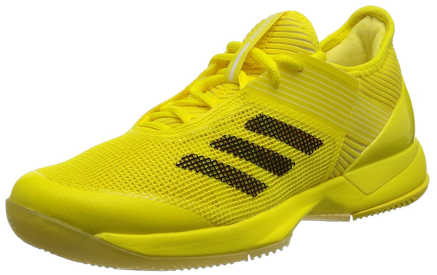 adidas Performance Womens Adizero Ubersonic 3 Tennis Trainers - Yellow