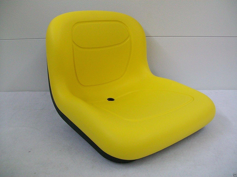 MILSCO Yellow SEAT John Deere F510, 240, 245, 260, 265, 285, 325, 335, 345, 415, 425, AM123666#AS JOHN DEERE MOWER