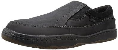 Men's Simple Post 1 Loafers (Black Crazyhorse Leather) - ZC715G1