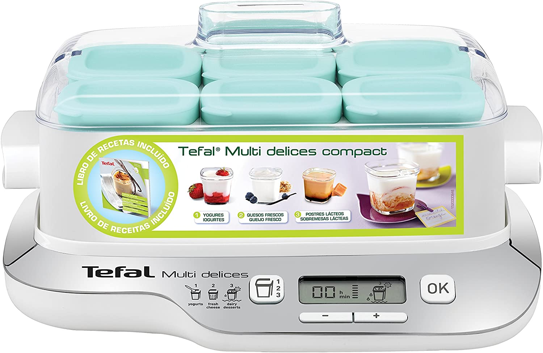 Tefal YG657120 YG6571-Yogurtera Multi Delices, Robot de postres ...
