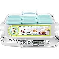 Tefal YG657120 YG6571-Yogurtera Multi Delices, Robot de postres, yogures y Queso Fresco, tarros Aptos Nevera y el…