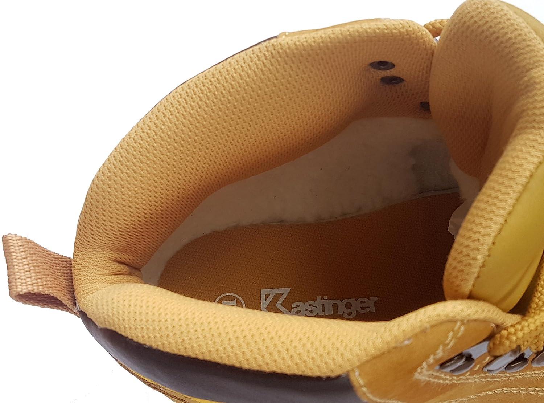 Kastinger Unisex Schuhe Damen und Herren, Kast-Stiefel, Kast-Stiefel, Kast-Stiefel, Robuster Stiefel aus vollwertigem Nubukleder, kräftige Profilsohle, Leichtes Warmfutter im Schaft 66141a