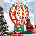 4 ft Felt Christmas Tree for Kids DIY Christmas Tree with 35 Pcs Detachable Xmas Ornaments Handmade Educational Toy Window Door Wall Hanging Decorations Holiday Xmas New Year Gifts for Toddlers