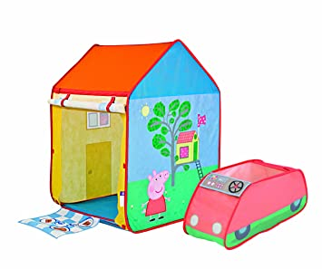 Worlds Apart Peppa Pig Roleplay Tent  sc 1 st  Amazon UK : peppa pig tent - memphite.com