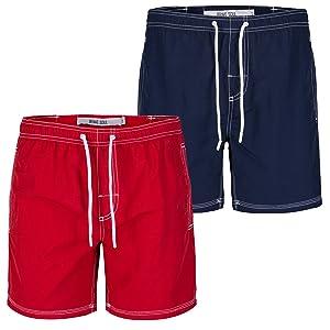 Brave Soul Men's Mesh Lined Swimming Shorts