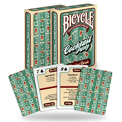 Bicycle Cocktail Playing Cards (2-Pack): Sports & Outdoors