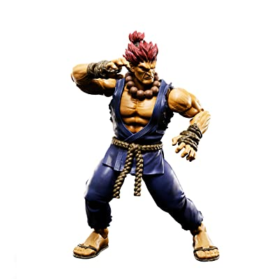 TAMASHII NATIONS Bandai S.H. Figuarts Akuma Street Fighter Action Figure: Bandai Tamashii Nations: Toys & Games