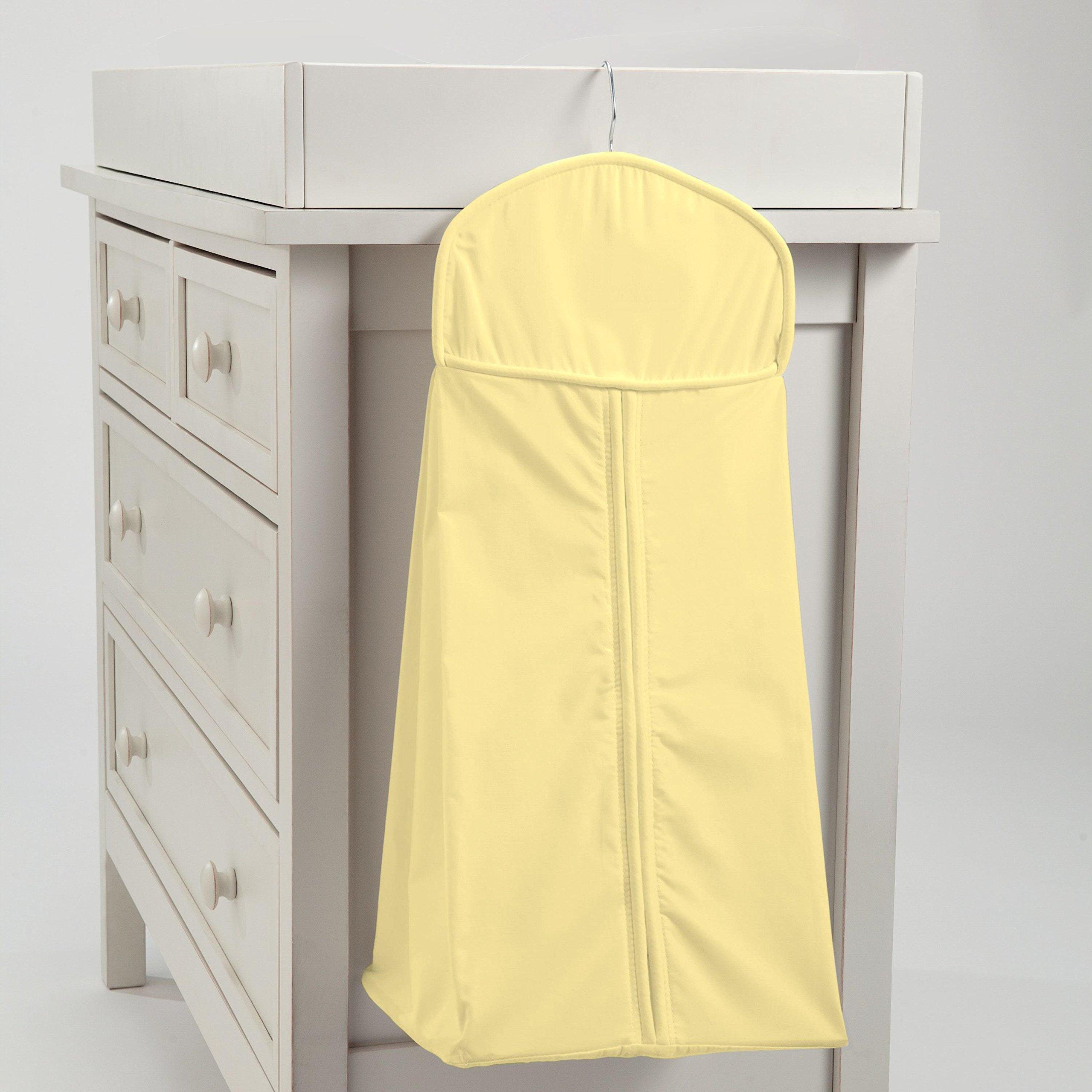 Carousel Designs Solid Banana Diaper Stacker