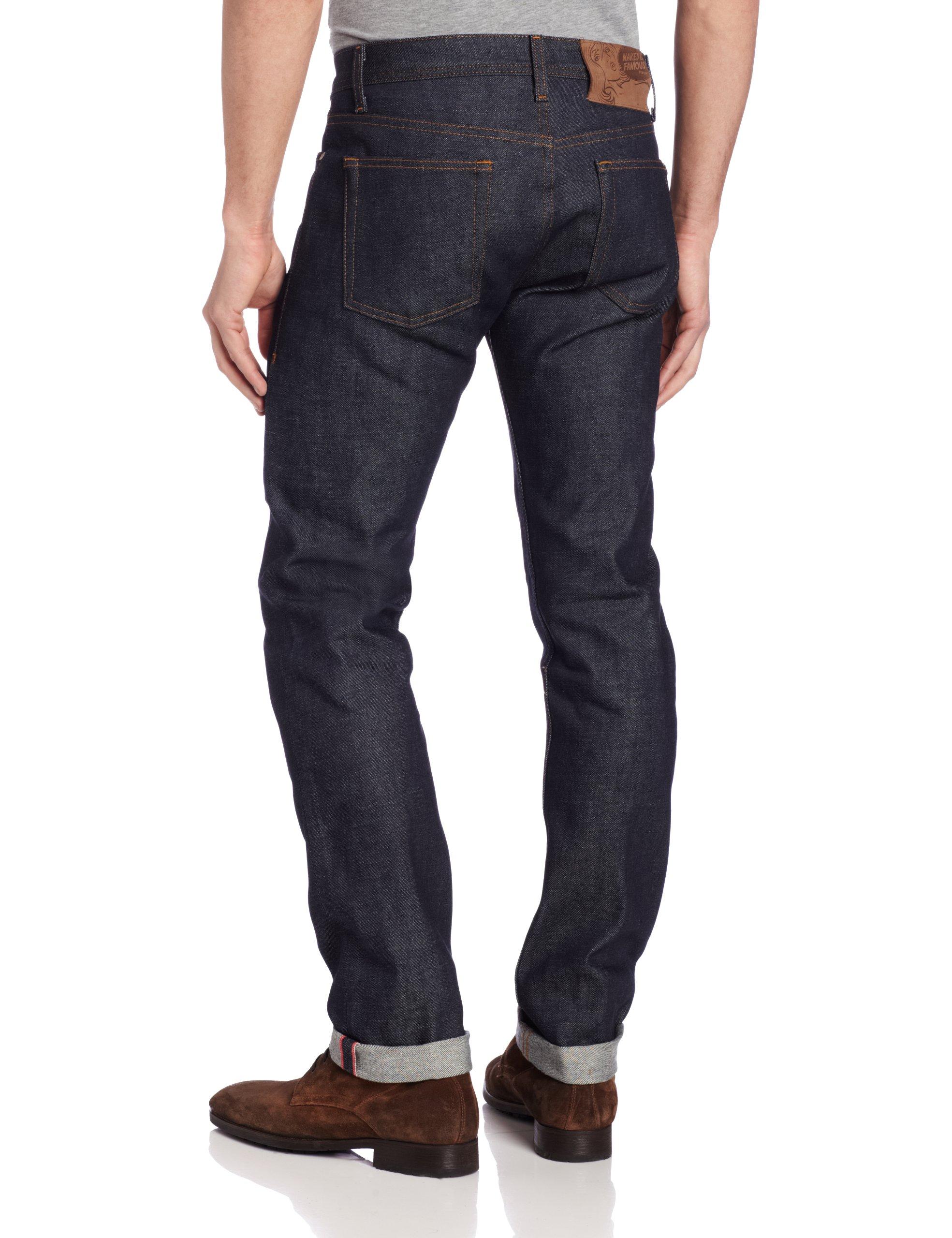 c64b6731 Men's Weird Guy Low-Rise Jean in Dirty Fade Selvedge - Denim Fit