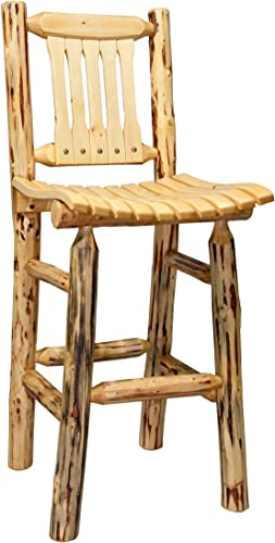 Montana Woodworks Montana Collection Outdoor Patio Chair, Clear Exterior Finish