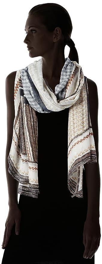 PIECES PCPIVIANA LONG SCARF, Combinaison Femme, Multicolore (Papyrus),  Taille unique: Amazon.fr: Vêtements et accessoires