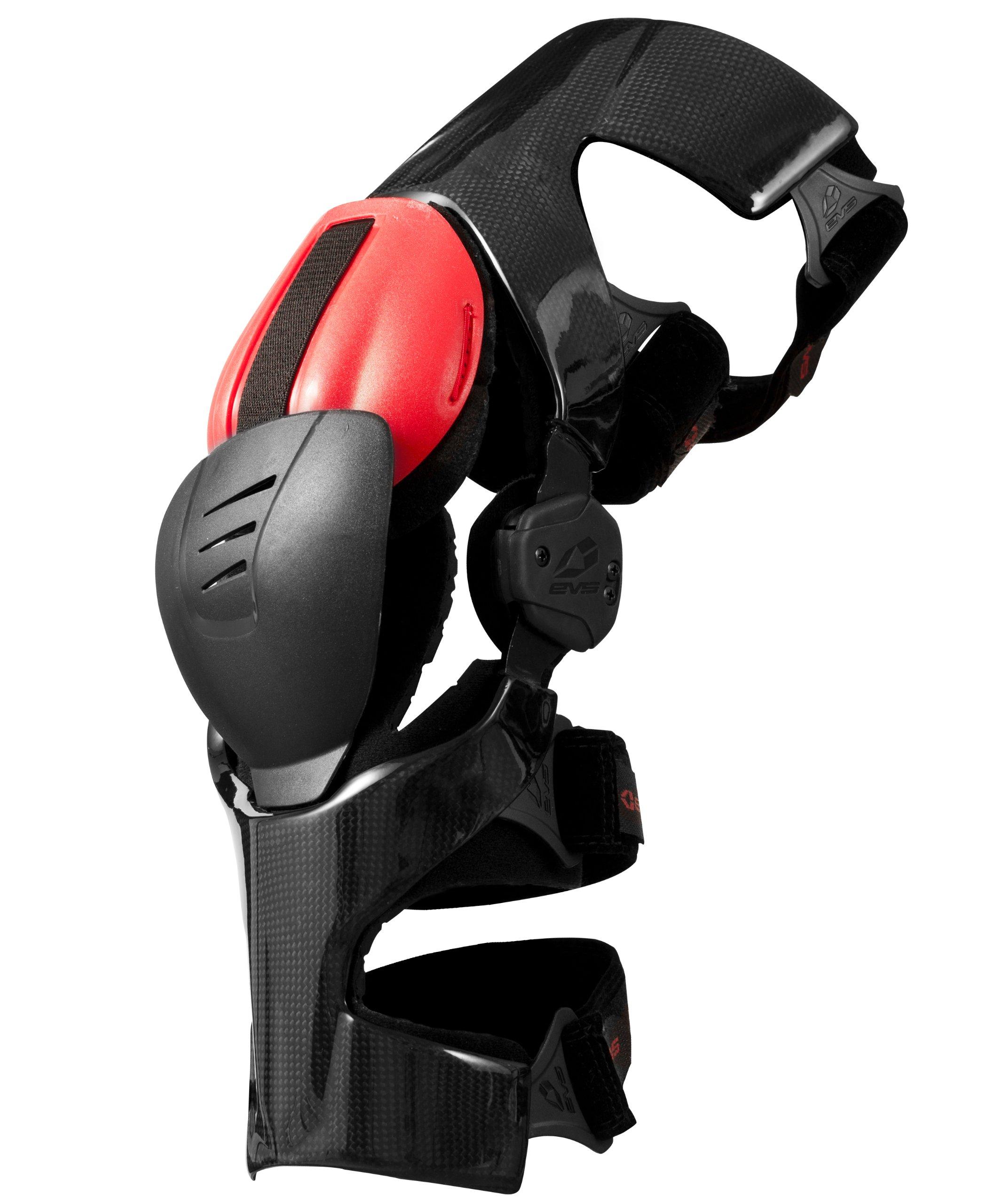 EVS Sports Web Pro Left Knee Brace (Carbon Fiber, Large)