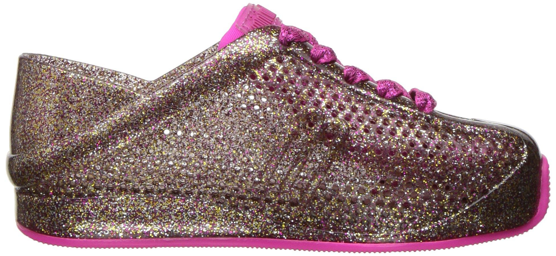 Mini Melissa Kids' Mini Love System Sneaker,Glass Pink Glitter,10 Regular US Toddler by Mini Melissa (Image #7)