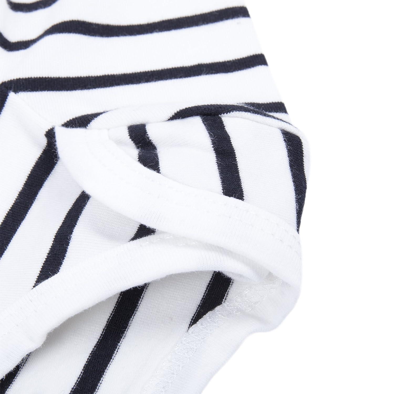 BIG ELEPHANT Baby Boysoder Girls Graphic Langarm Hosen Kleidung Set mit Hut H94A
