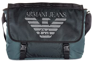 Armani Jeans sac à main bandoulière homme vert  Amazon.fr ... dc7604b70e1