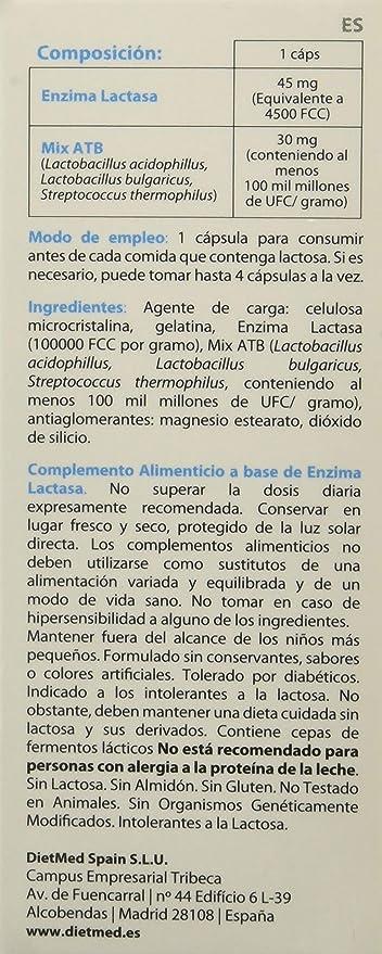 DietMed Lacto 112-30 Cápsulas
