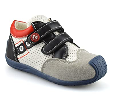 Kids Trainers Children Boys Girls Touch Fasten Casual Sport Shoes