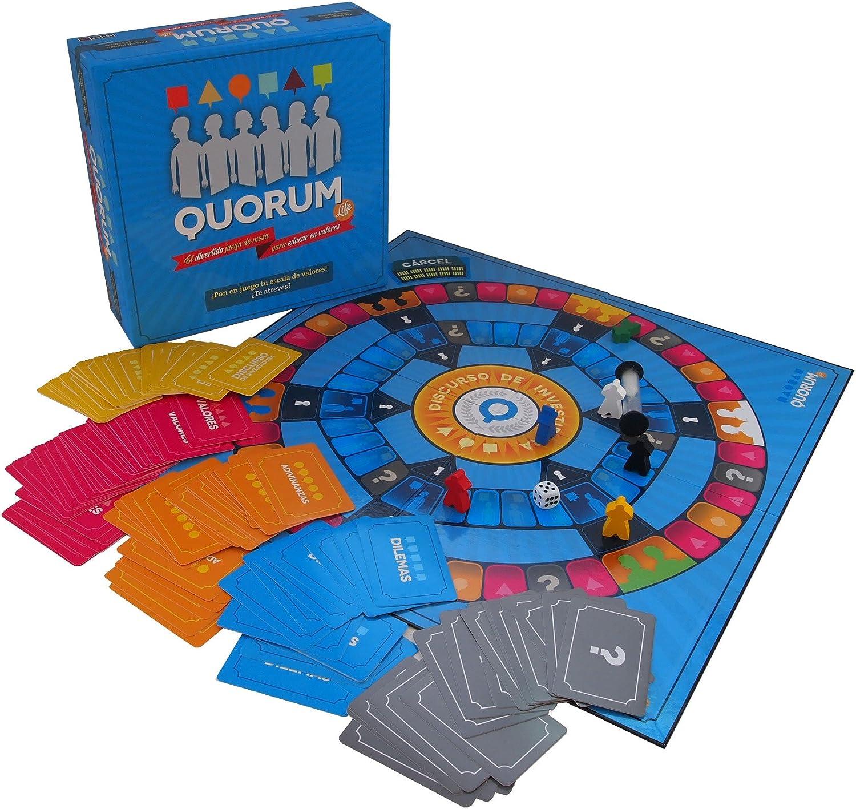 Quorum Life - Juego de mesa para educar en valores: Amazon.es: Juguetes y juegos