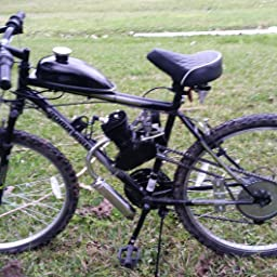 Amazon Com Customer Reviews Seeutek 26 Or 28 80cc Bike Bicycle Motorized 2 Stroke Cycle Motor Engine Kit Set