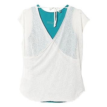 Adidas Run SS Layer T - Camiseta para Mujer: Amazon.es: Zapatos y complementos