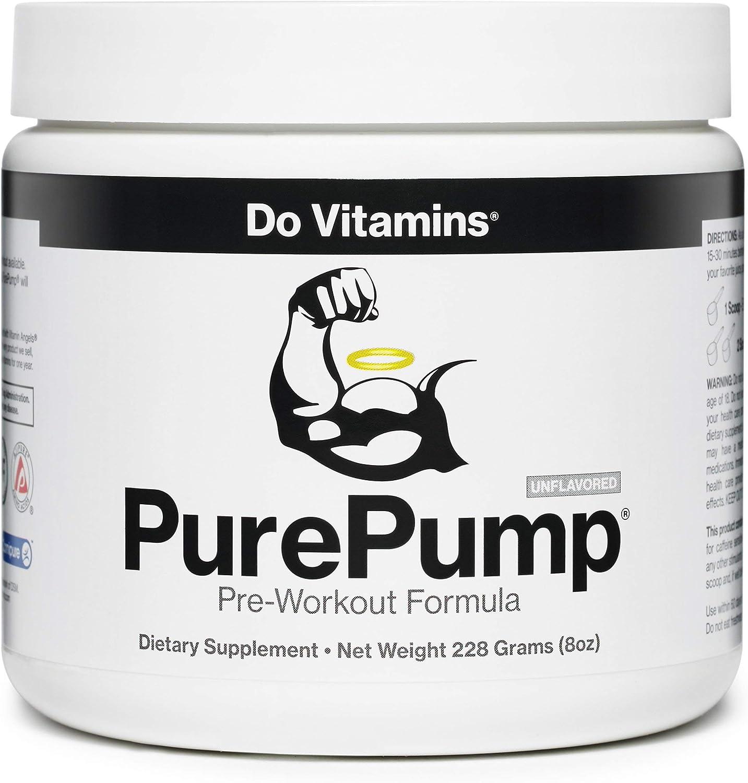 Amazon.com: Do Vitamins - PurePump Natural Pre Workout Supplement ...
