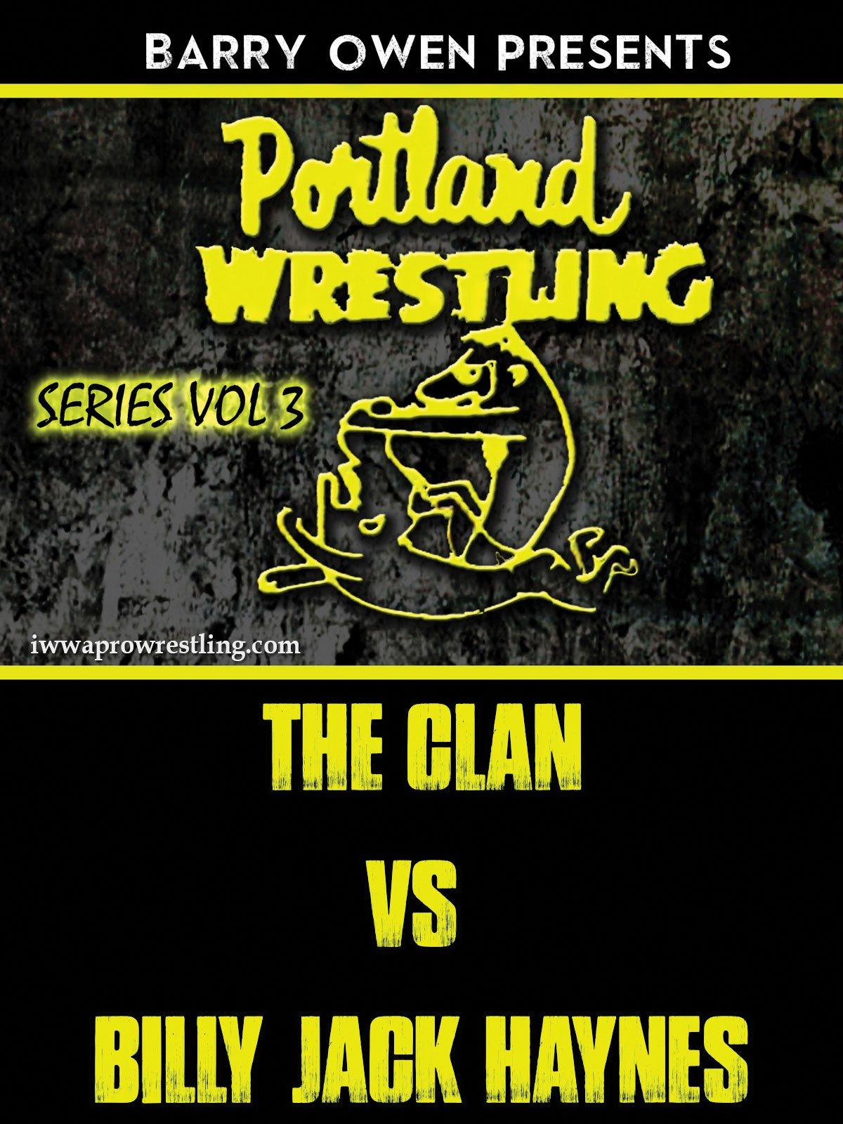 DVD : Barry Owens Presents Portland Wrestling 3 (DVD)