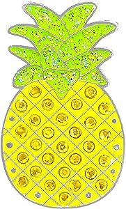 Navika Crystal Golf Ball Marker & Hat/Visor Clip - Pineapple