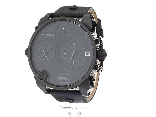 994bc9e25b12 Diesel DZ7193 - Reloj de Cuarzo para Hombre con Correa de Piel ...