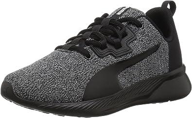 PUMA19157201 - Tishatsu Zapatillas para Correr de niños Unisex Niños, Negro (Puma Negro-puma Blanco), M Niño pequeño: Amazon.es: Zapatos y complementos