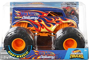 Hot Wheels MonsterTruck1:24 Dairy Delivery Vehicle