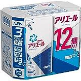 アリエール 洗濯洗剤 液体 イオンパワージェル 詰め替え ケース販売用 720gx12