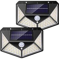 nuosife Solares para Exteriores, Luz Solar Exterior, Lluminacion led Solar, 3 modos de…