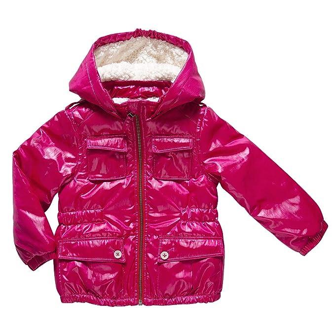 Chicco Chaqueta con capucha para niña, talla 2 ans - talla francesa, color Rosa