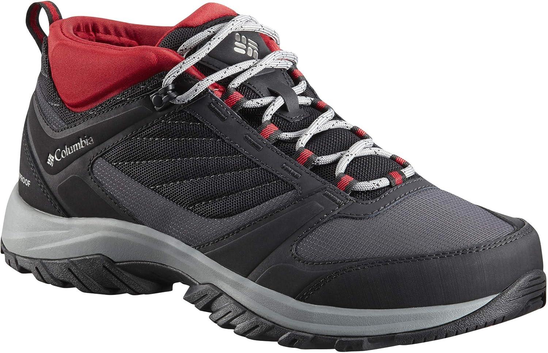 noir Lux US 10.5   EU 43.5 Columbia Terrebonne II Sport Omni-Tech, Chaussures de Randonnée Basses Homme