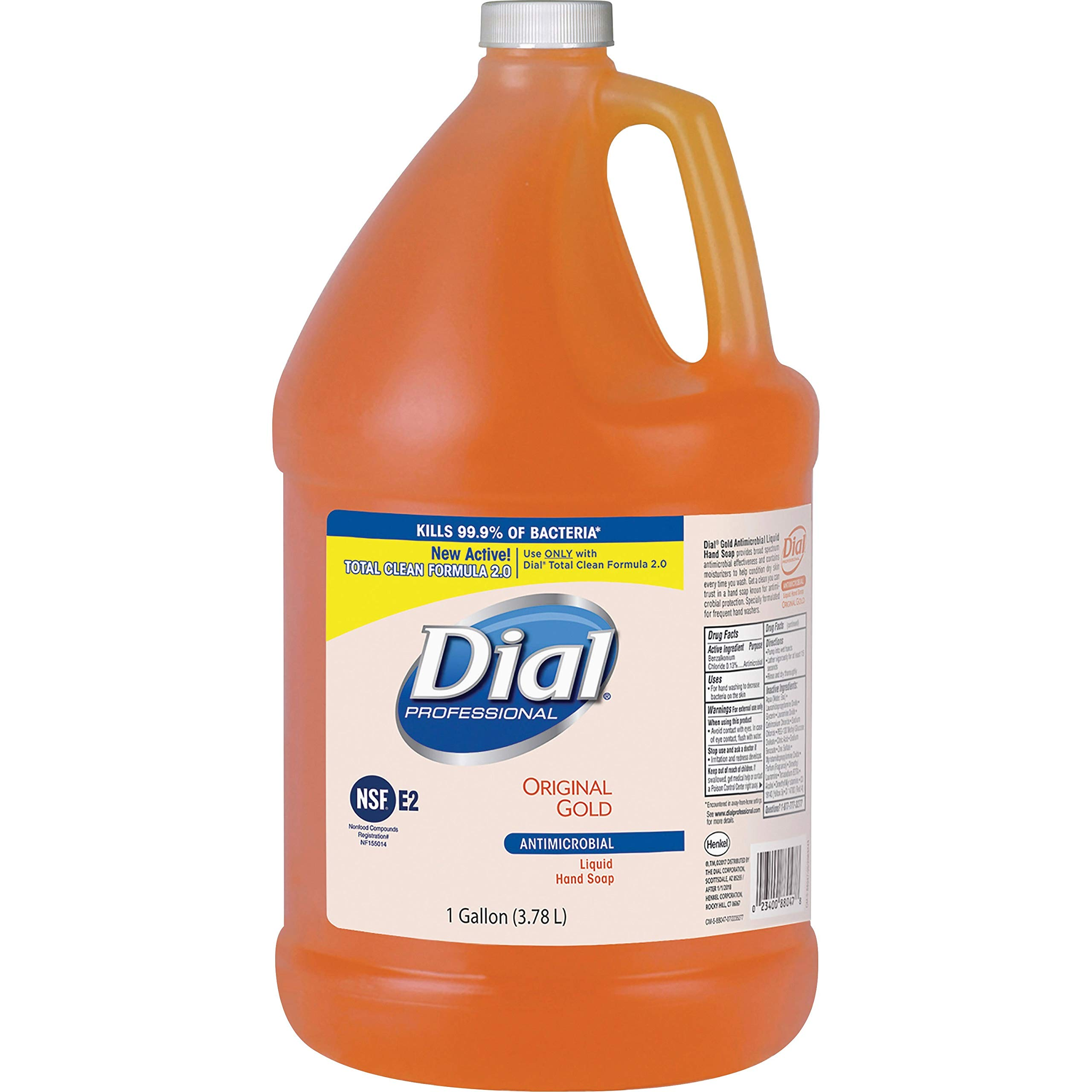 DIAL 1 gal. Floral Antimicrobial Soap by Dial