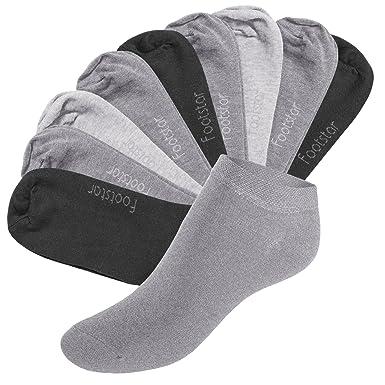 Footstar 10 paires de socquettes SNEAK IT! - chaussettes courtes pour hommes et femmes