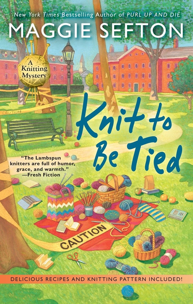 Knit to Be Tied (A Knitting Mystery) pdf epub