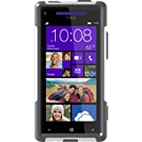 OtterBox Commuter Series Case for HTC Windows Phone 8X - Retail Packaging - White