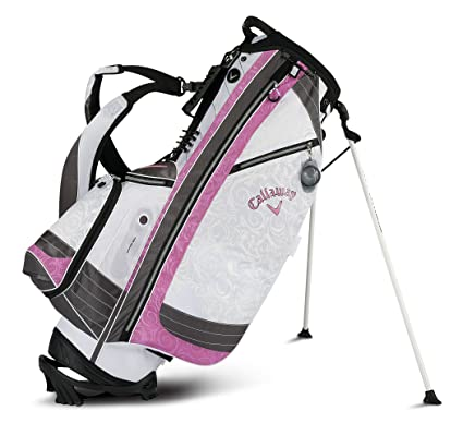 Amazoncom Callaway Solaire Stand Bag Pink Golf Stand Bags