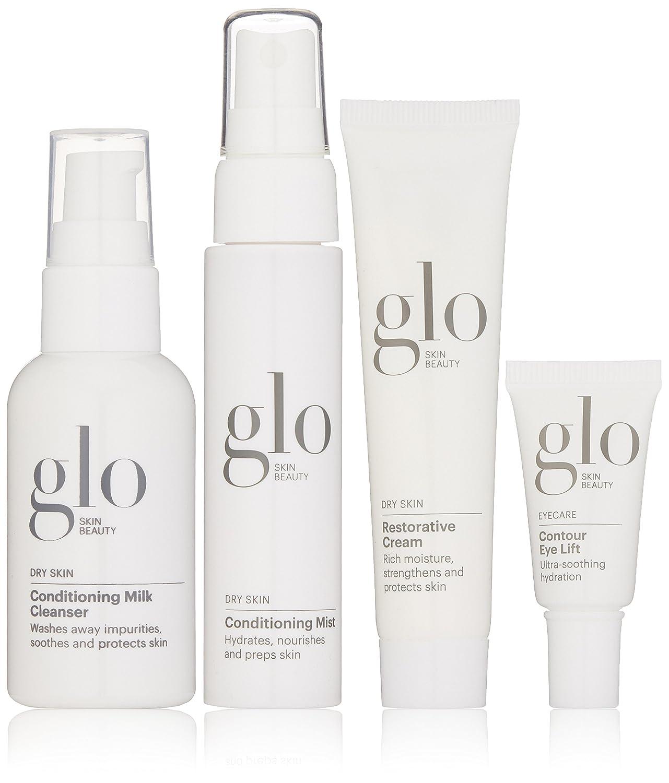 Glo Skin Beauty 4-Piece Travel Skincare Set, Oily Skin