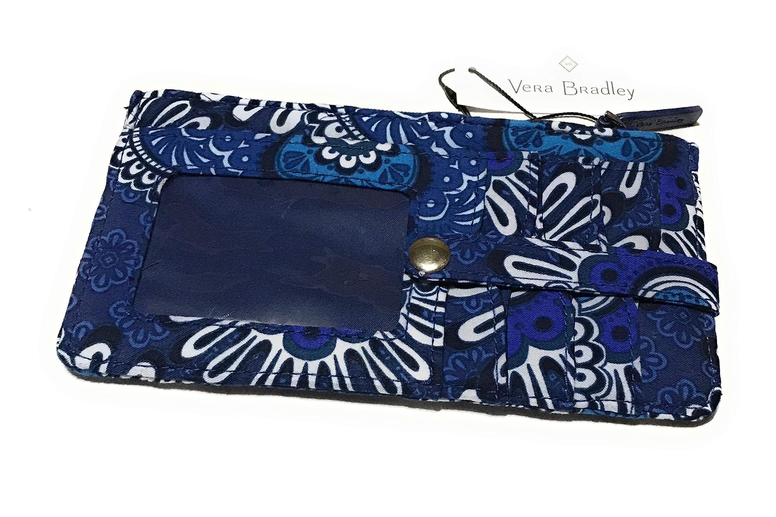 Vera Bradley Ultimate Card Case - Blue Tapestry by Vera Bradley