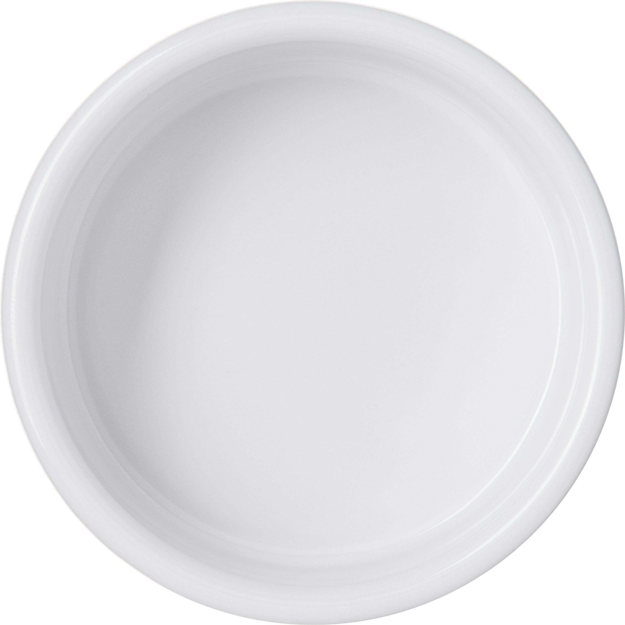 Carlisle 41402 White Melamine Straight-Sided Ramekin (Case of 48) by Carlisle (Image #3)