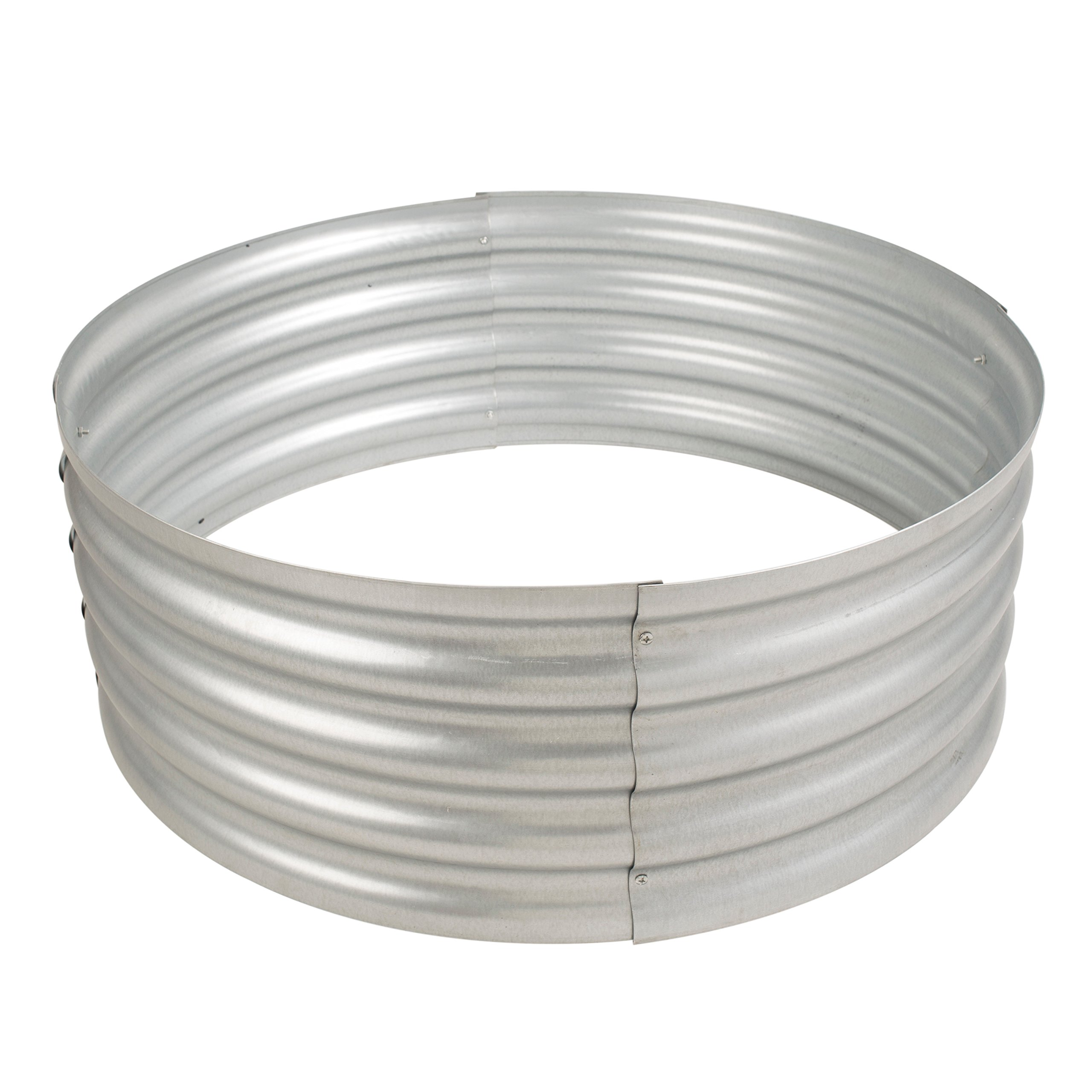 Pleasant Hearth OFW815FR Infinity Galvanized fire Ring by Pleasant Hearth