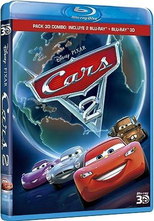 Pack 3D Combo: Cars 2 (BD 3D + 2 BDs 2D) [Blu-ray]: Amazon.es ...